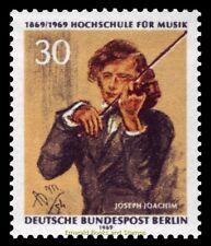 EBS West Berlin 1969 Hochschule für Musik Conservatorium Berlin Michel 347 MNH**