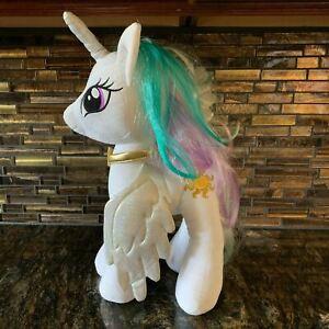"My Little Pony Build A Bear Plush White Princess Celestia Sun MLP BAB 19"" 2014"