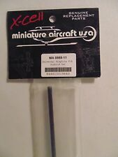 Miniature Aircraft UNIVERSAL GRAPHITE T/R PUSH ROD SET MA0868-11 NIP