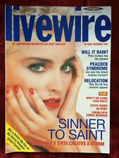 MADONNA very rare UK LIVEWIRE magazine from 1996
