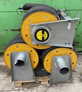 Plymovent Exhaust Extraction Set - 3 x 100mm Exhaust Extraction Reels