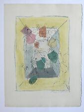 Gravure originale VILLON Jacques Aquarelle 62 Les Frontières du matin Gruslin