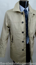 Timberland Raincoat Light Beige Size L Waterproof BNWT