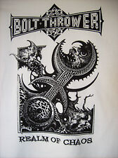 BOLT THROWER - 2014 Realm Of Chaos Shirt XL Napalm Death Unleashed Morgoth