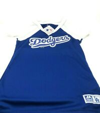 Majestic Los Angeles Dodgers Womens Shirt Blue - Small