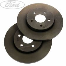 Rear Solid Brake Discs Ford Mondeo 2.2 TDCi Estate 2004-06 155HP 280mm