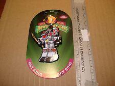 1994 Mighty Morphin Power Rangers megazord  keychain ring -free combine ship-key
