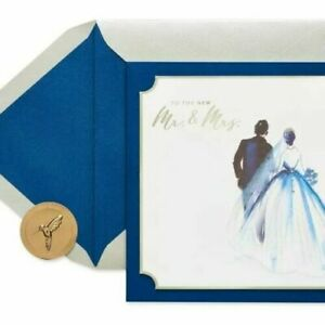 Wedding Painterly Couple Greeting Card – Papyrus