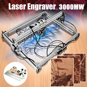 3000MW DIY Laser Graviermaschine Graviergerät Lasergravur Engraving 65x50cm