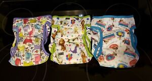 Paw Legend Washable Reusable Female Dog Diapers size M (3 pack)