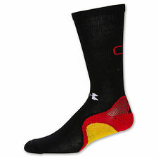 UNDER ARMOUR Mens L C1N Cam Newton Trainer Crew Socks Black / Red / Yellow