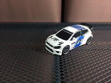Majorette VW Polo R WRC REd Bull model White Diecast Racing