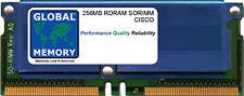 256MB Rdram Sorimm Cisco 11500 Serie Contenido Servicios Conmutadores,CSS5 MEM
