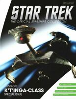 Eaglemoss Star Trek Klingon K`t'inga-Class Battle Cruiser XL - IN STOCK