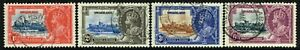 SG 21-24 SWAZILAND 1935 SILVER JUBILEE SET - USED