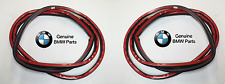 For BMW F10 528i 535i 535i M5 Pair Set of Rear Left & Right Seals For Door OES