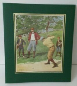Vintage C.R Gibson Scrapbook Golf Classic 28 Pages (w/o box) ~ A40