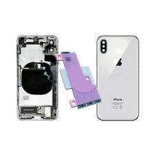 Back Cover Shell Rear Case Frame Chassis Iphone X Silver 100% Quality'