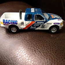 "RealToy Racing Truck #8 Ford F-150 5"" Die Cast"