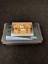 Gunstar Heroes Gun Star Mega Drive Sega Japan Game Tested Import US Seller