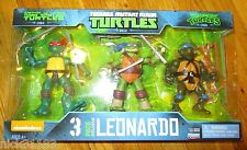 Teenage Mutant Ninja Turtles Leonardo Evolution 3 Pack Exclusive Set 1984 1988