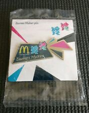 London 2012 Olympics Games Maker Coloured Pin Badge New & Sealed