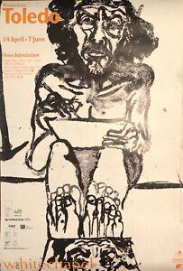 FRANCISCO TOLEDO Self Portrait Exhibit Poster Whitechapel Gallery 1999