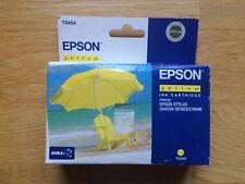 Cartucho Tinta Impresora EPSON Stylus Yellow T0454, C64/C66/C84/C86/CX6400