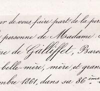 Alexandrine Justine De Galliffet Edouard De Coriolis 1861