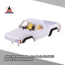 1:10 RC Crawler Car Hard Plastic 313mm Wheelbase Body Shell for Axial SCX10 D90