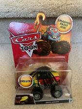 Disney Pixar Cars Toon Deluxe Die Cast Monster Truck Mater Rasta Carian NEW