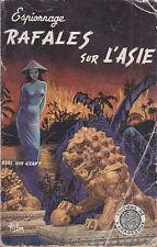 C1 Claude MOLITERNI Karl Von Kraft RAFALES SUR L ASIE 1957 EO Epuise ASLAN