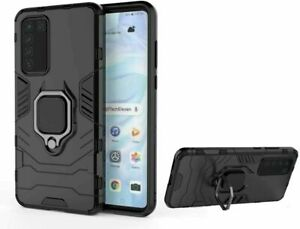 Case Cover Anti-shock Magnetic Ring Armor Huawei P30 Lite