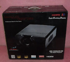 Marquee LED Digital Projector Model MD-1000LED-3D.