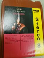 ELvis Presley He Touched Me 8 track RCA Victor Stereo 8 P8S-1923 Tested