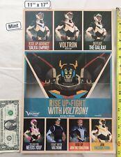 Voltron Legendary Defender 11 x 17 Exclusive Poster 2017 Nycc Netflix Allura