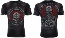 Affliction Men S/S T-Shirt REST IN GREASE American Customs BLACK Biker S-3XL $58