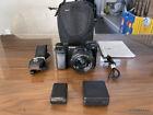 Sony Alpha a6000 Black Camera Kit + 16-50mm Lens w/ LowePro Camera Bag ~NICE