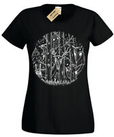 Dark Forest T-Shirt Womens fantasy gothic alice woodland goth tim burton magical