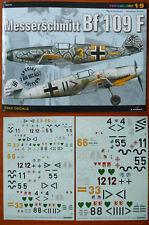 *Messerschmitt Bf 109 F, TopColors 19,  KAGERO -Decals FREE