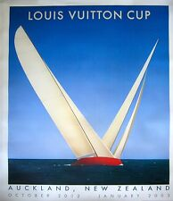 Razzia Hand-Signed Louis Vuitton 2003 Aukland Cup Poster