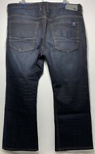 "David Bitton Buffalo King-X men's 38x26 Altered From 32"" Stretch Blue Jeans"