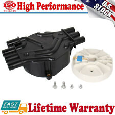 Black Distributor Cap and Rotor Kit D328A for Chevrolet Silverado 1500 4.3L V6