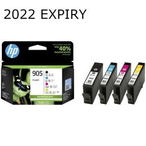 HP Genuine 905 BK/C/M/Y 4 Ink Cartridge Value Set Officejet 6950/6956/6960/6970