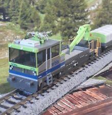 Hobbytrain 23563 N Scale BLS robel motorised Track maintenance viehcal & trailer