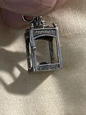 Japanese Lantern Vintage Sterling Silver