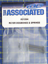 Team Associated RC18R Dogbones and Springs 21284 modellismo