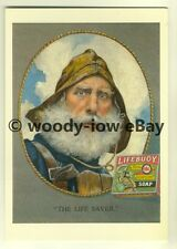 ad3443 - Lifebuoy Soap- Fisherman - Royal Disinfectant -  Modern Advert Postcard
