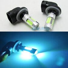 2X Ice Blue 881 H27W/2 886 LED SMD Fog Light Running Bulb for Hyundai Veloster