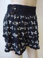 Faldas de mujer cortas negras 100% algodón